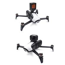 Con vẹt bebop 2 Drone cơ thể Mở Rộng Khung Giá Cho Gopro Anh Hùng 3/4/5/6/7 Hành Động 360 Độ VR Máy Ảnh Núi Chủ parrot Acce