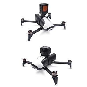Image 1 - Con vẹt bebop 2 Drone cơ thể Mở Rộng Khung Giá Cho Gopro Anh Hùng 3/4/5/6/7 Hành Động 360 Độ VR Máy Ảnh Núi Chủ parrot Acce