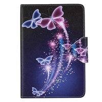 Shiny Butterfly Pattern Leather Flip Case For Samsung Galaxy Tab A8 0 T350 T550 530 T230