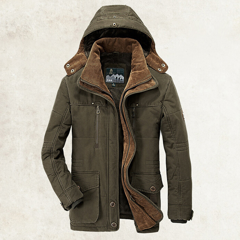 New Minus 40 Degrees Winter Jacket Men Thicken Warm Cotton-Padded Jackets Men's Hooded Windbreaker Parka Plus Size 5XL 6XL Coats