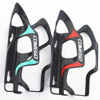 2pcs/lot 3k comego Full Carbon Fiber Water Bottle Cage MTB Road Bicycle Bottle Holder Bike Parts 25g