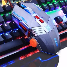 ZUOYA Gaming Mouse Professional Gamer Mouse Wired Optical Mouse Adjustable 3200DPI LED Mouse USB Mice for Game Laptop Computer