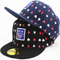 New Style Fashion Childrens Poker Pattern Baseball Cap Lovely Flat Along the Hat Hip Hop Outdoor Sun Hat