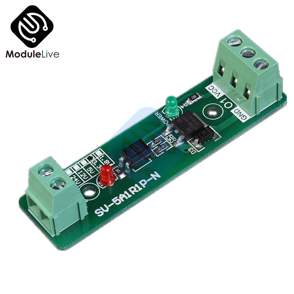 New 33v 1 Channel Relay Driver Module Photoelectric Isolation Input Basic Circuit Npn Pnp Mo