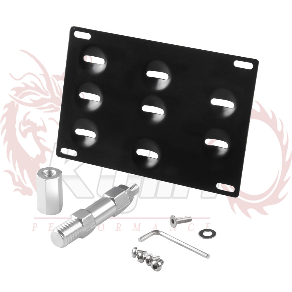 kylin license plate holder mount tow hook bracket license plate relocator frame for bmw mini cooper f10 f11 f25 f26 345 series