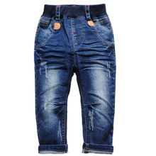 6033 baby jeans boy jeans pants denim kids trousers spring&autumn fashion navy  blue new  baby boys