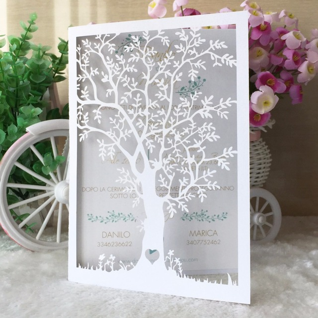 12pcs Personalized Custom 80th Birthday Life Tree Adult 30th 40th 50th 60th 70th 90th Invites Party Decoration Supplier