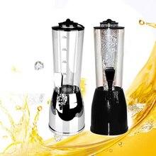 2.5L Ice Silber Schnaps Pumpe Tankstelle Bier Alkohol Flüssiges Wasser Saft Wein Soda Getränk Dispenser Maschine
