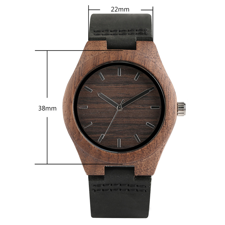 simple design style nature wood creative watches13