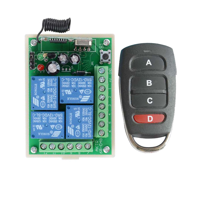 Light Rf Remote Control