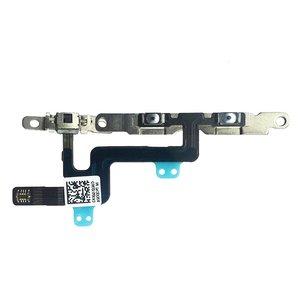 Image 2 - 1 Pcs Voor Iphone 6 6 Plus Volume Knop En Silent Switch Flex Kabel Met Beugels Voorgeïnstalleerd
