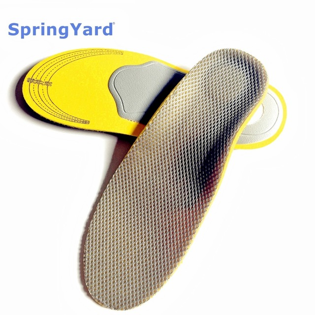 (2 Size) Foam+TPR Shoes Woman/Men Arch Support Orthopedic Insoles Breathable Shock Absorption Cushion Sport Shoe Insole Pad
