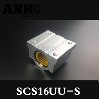 Sc16uu S Scs16uu Linear Bearing Block With Lm16uu S Bush Pillow Block Linear Engineering Plastic Bearing