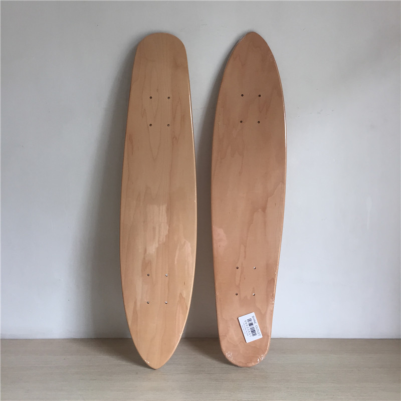2pcs/Lot Blank Skateboard Deck Canadian Maple Cruiser Board 30x7 1/8 Skateboarding Deck famous russian brand union board full canadian maple wooden deck skateboard 8 patins street 10types available