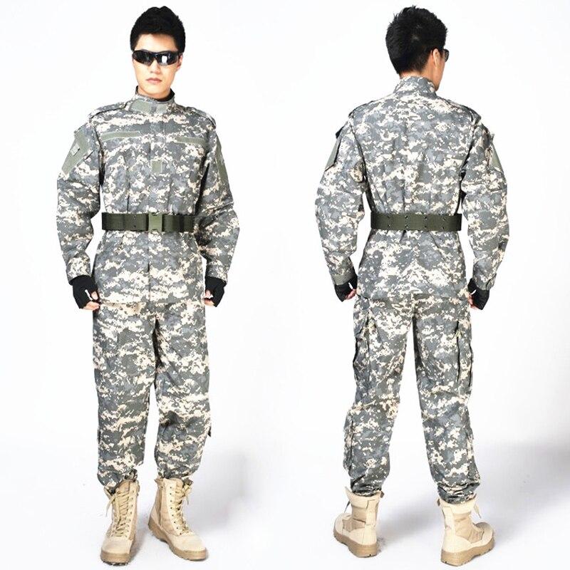 2016 Hot Sale Military Army Combat Uniform Hunting Shooting Paintball Tactical Uniform CS Camouflage Suits hot sale gen2 official tactical military training uniform combat clothing pant