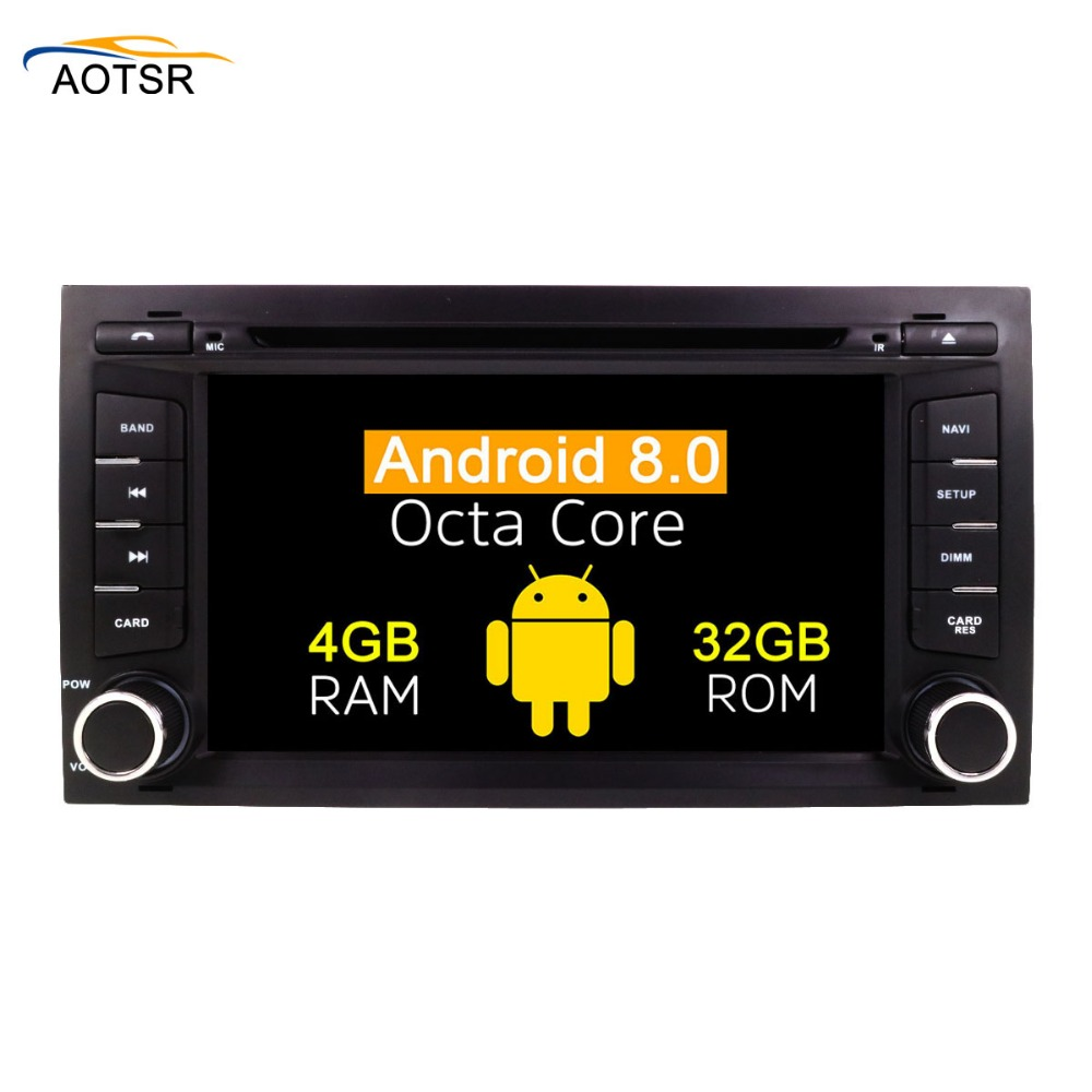 7 Android 8 0 Car CD DVD Player Stereo Head Unit For Seat Leon 2012 2013