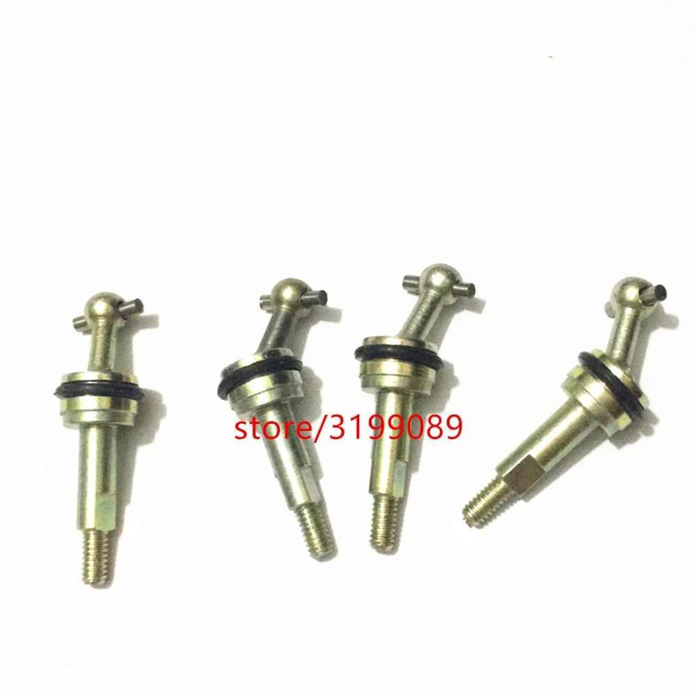 Nuevo eje de transmisión de acero de hueso de perro 4 Uds. Piezas de actualización de metal para WLtoys 1/28 RC cars P929 P939 K969 K979 K989 K9