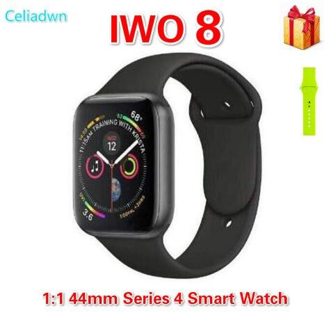 9fa34cb593d New IWO 8 Relógio Inteligente MTK2502C IWO 5 Atualização 1 1 44mm Série 4  Relógio