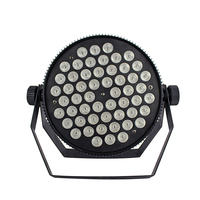 LED Par Light with 54Pcs Lamp Beads 3W RGBDMX512 for Home Party Disco Strobe Flat DJ Shows professional stage Equipment