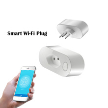 smart Wi-Fi plug for Brazil home smart remote control products regulation row plug socket APP support IOS Android smart home цена 2017