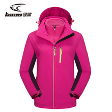 ФОТО lxiao spring autumn womens polyester outdoor hiking jackets female outdoor camping climbing coat for waterproof windproof jacket