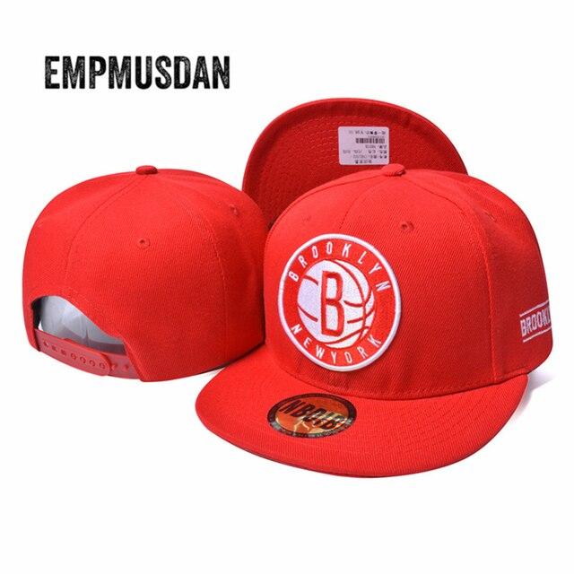 Snapback baseball cap Fashion Brooklyn Letters Bone Gorras hip hop Caps Solid Color Brand Men Women Hat snapback bone caps