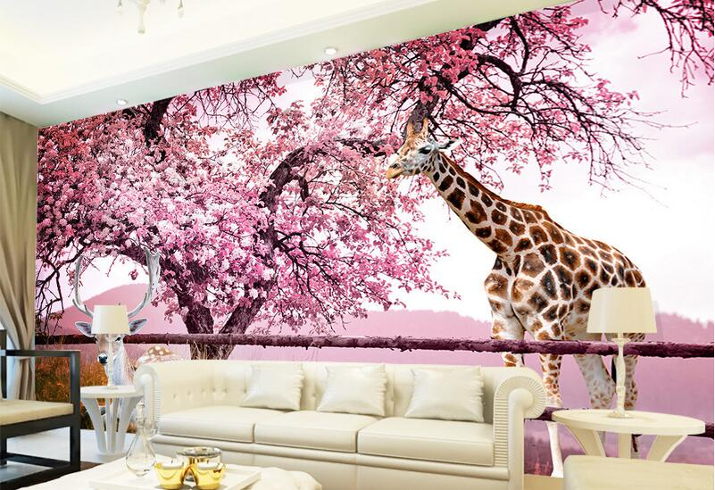 Wall Mural Wallpaper Cherry Blossom 3d Awesome Ideas