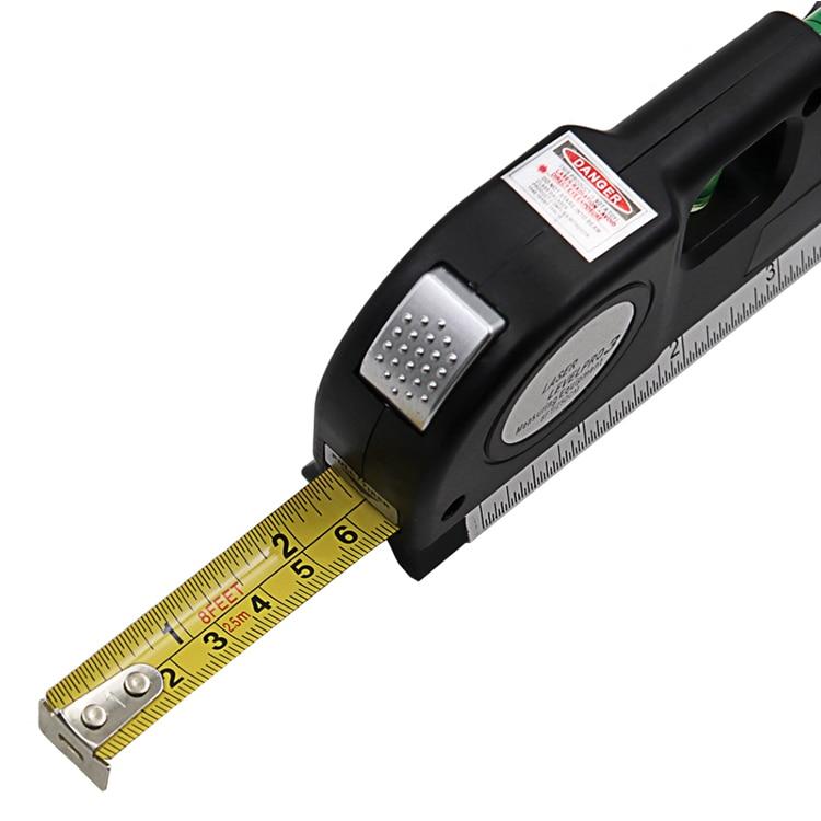 Горячий 1 шт. Многофункциональный Уровень лазерный Горизонт Вертикальная измерительная лента выравниватель пузырьки линейка