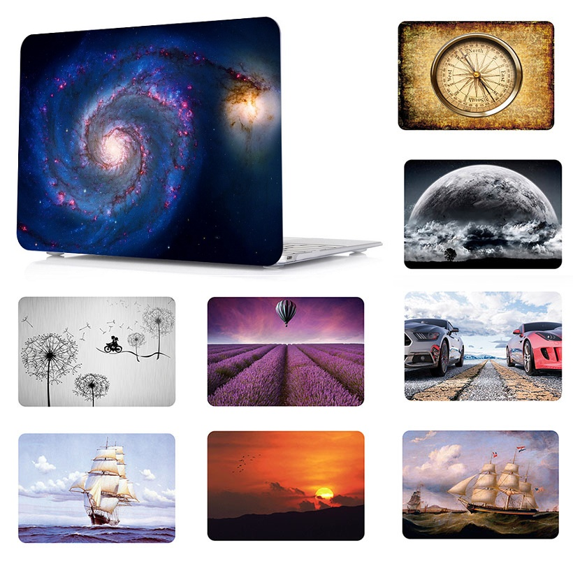2019 New Printing Laptop Hard Case Shell Cover Skin For Apple Macbook Air 11 13 Pro 13 15 Retina Touch Bar & ID 12 13 15 Inchs