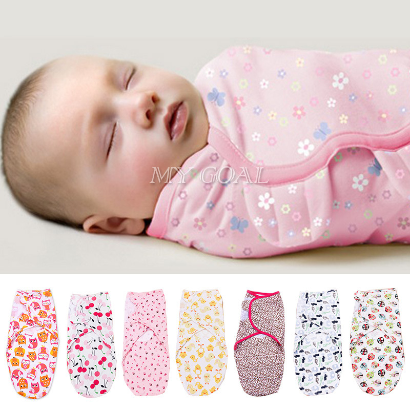 baby Swaddle Summer Organic Cotton Infant Parisarc Newborn thin Baby Wrap Envelope Swaddling Sleep Bag Sleepsack