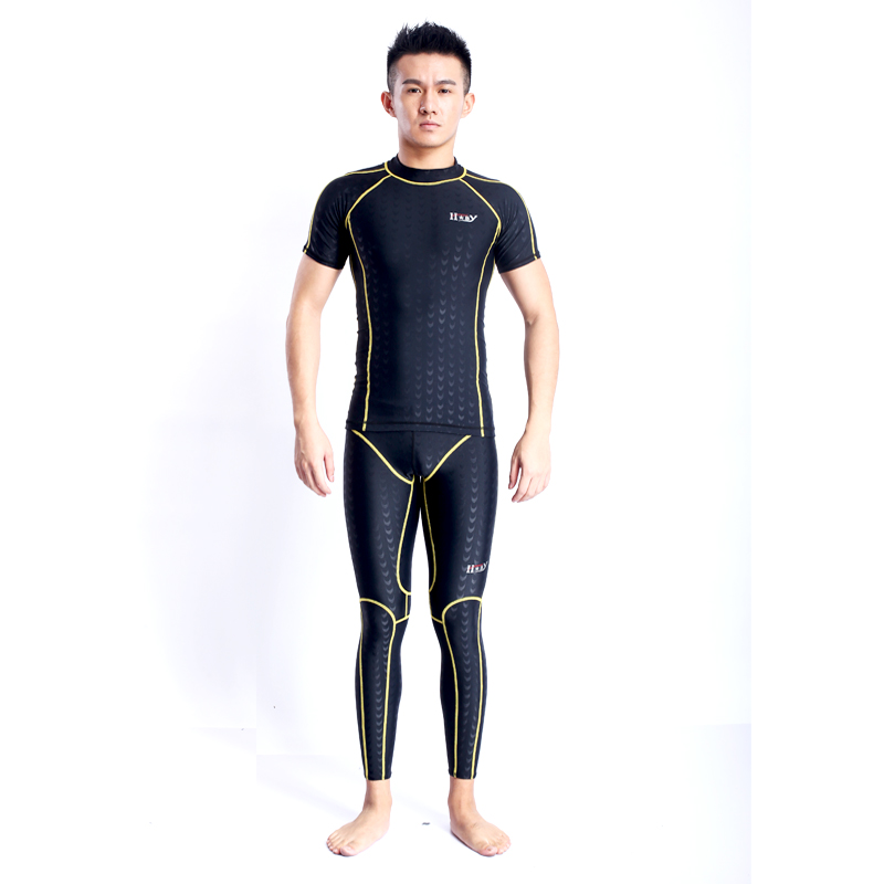 2017 Sale High Quality New Men Wetsuit Scuba Diving Suit One-piece Swimwear Swimming Suits Dive Rashguard Unisex Hx31 uv suncreensuit men diving wetsuit scuba snorkeling diving suit men rashguard swimming long sleeve swimwear surf suit hmu0026 5