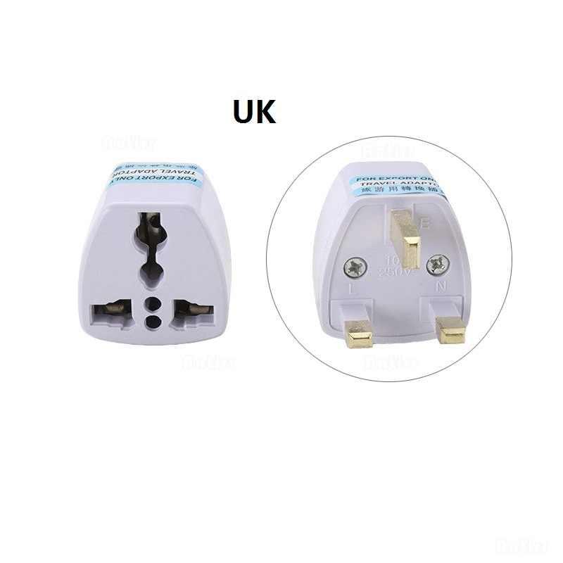 Universal International Travel Charger Dinding USB Converter Telepon UK US AU Uni Eropa Jerman CN Amerika Serikat Euro Eropa AC Power Socket plug