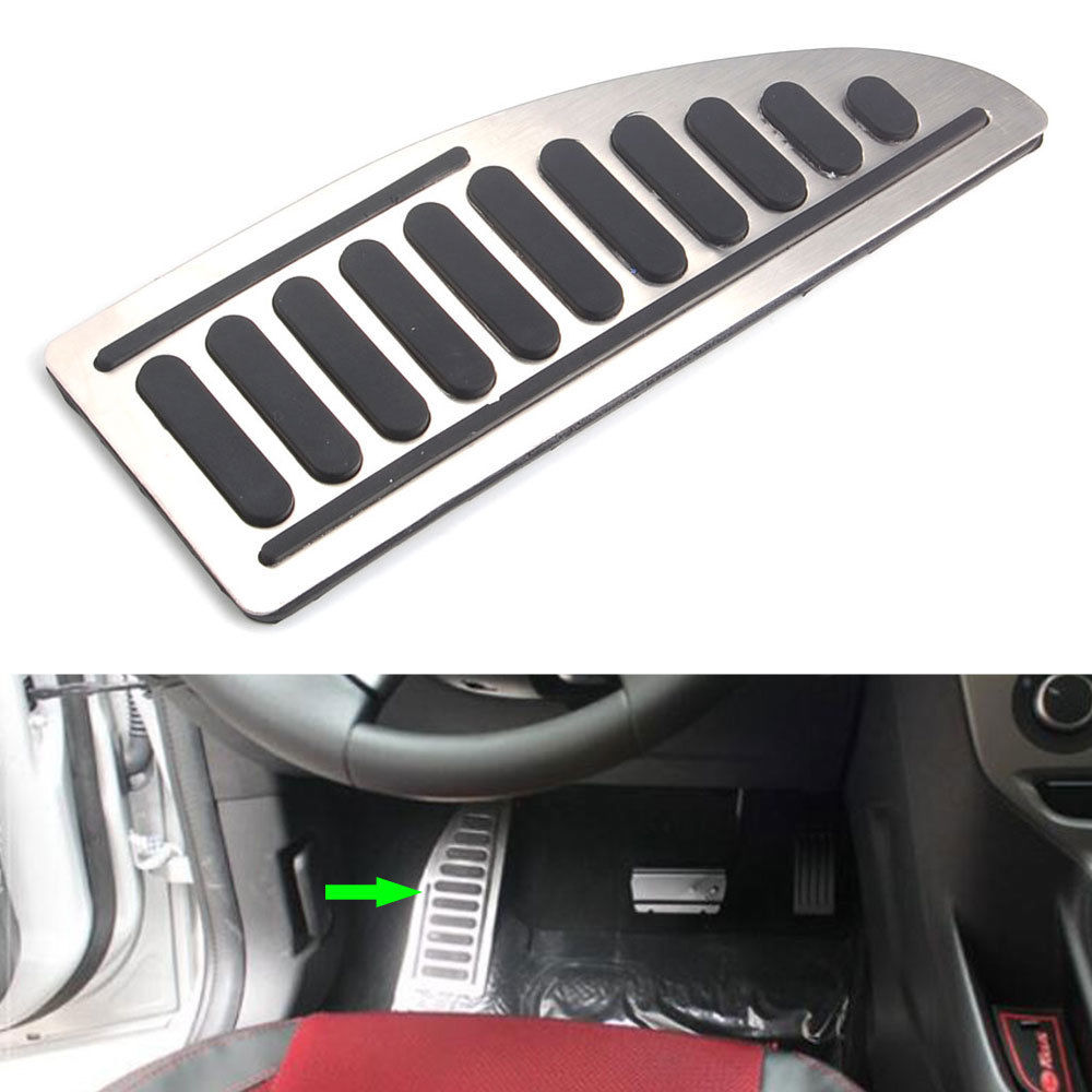 Order 1 set auto foot rest pedal pad anti skid styling car accessories for ford focus mk2 mk3
