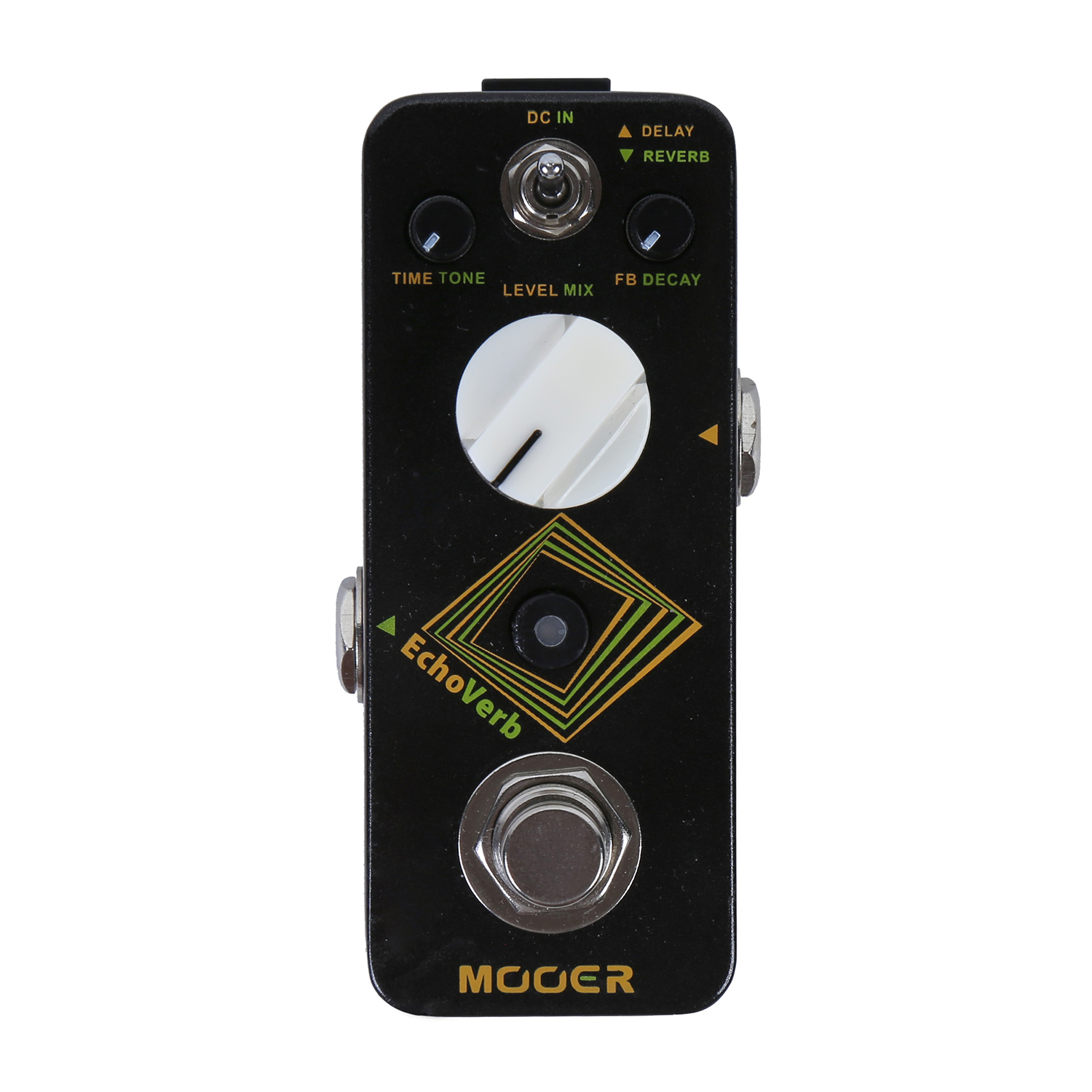 Mooer Echoverb Pedal Delay Reverb Electric Guitar Effect Time Feedback Level Delay Tone Dcay Mix Reverb Digital MRV4 педаль reverb delay tc electronic flashback delay