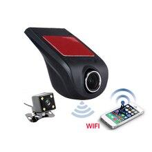 Видеорегистраторы для автомобилей Камера видео Регистраторы Беспроводной Wi-Fi приложение манипуляции 1080 P Новатэк 96655 dvr регистраторы Регистратор