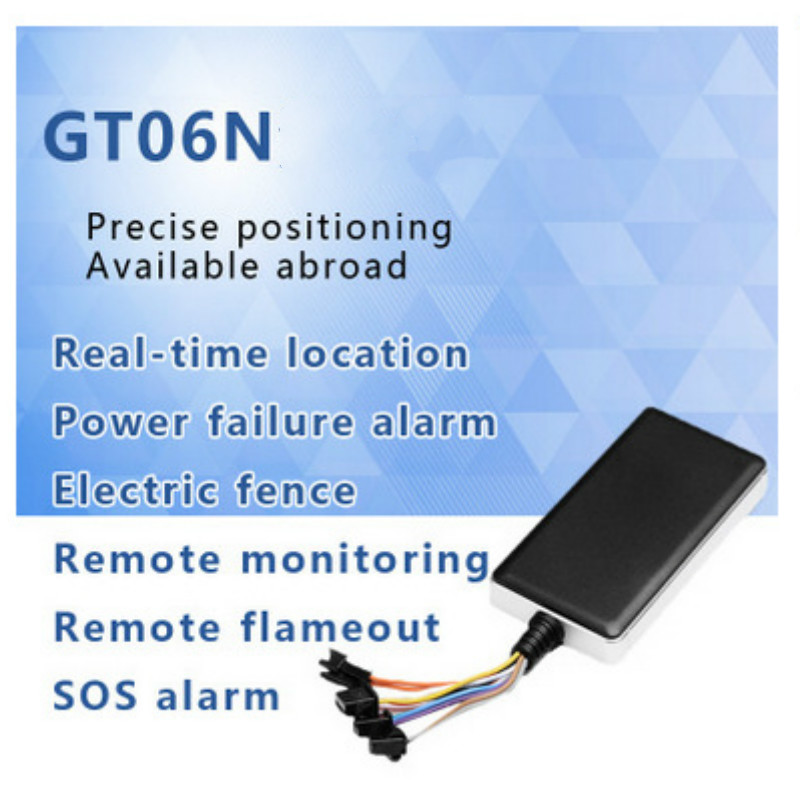 Traqueur Global général de localisation de véhicule de GPS de Satellite GT06N traqueur complet de véhicule