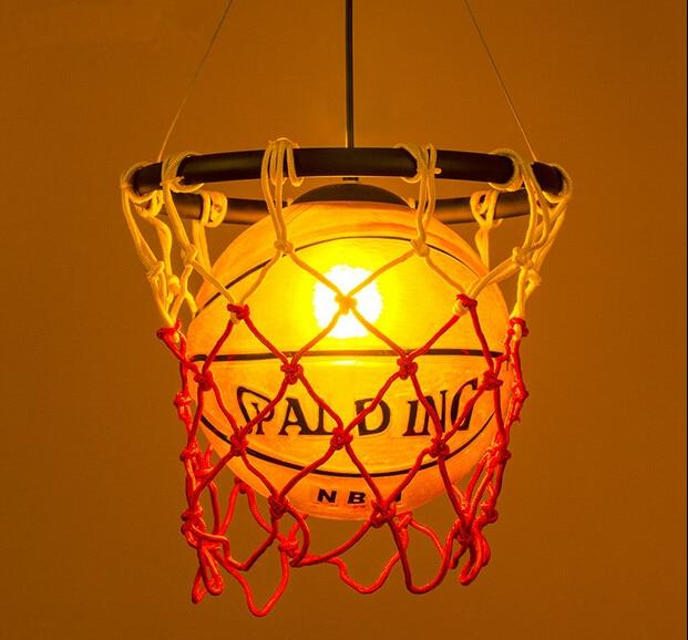 Créatif acrylique basket Vintage Loft pendentif lumières personnalité suspendus luminaires pour la maison éclairages lampara Colgantes - 5