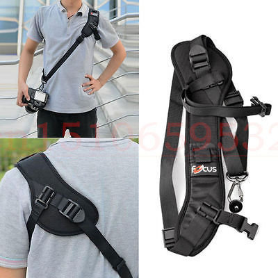 цена на Focus F-1 Anti-Slip Quick Rapid Shoulder Sling Belt Neck Strap for Camera DSLR