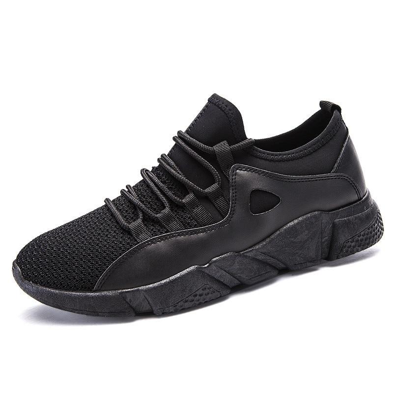 black Hiver D'hiver Marque Occasionnels Casual black Automne 2018 Mocassins De Red Sneakers Respirant White Mâle Chaussures Black Hommes Chaude fqCZvwR
