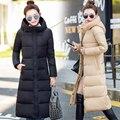Abrigo de invierno Femenina Delgada Larga Maxi Tamaño Espesado Todos Los Modelos Femeninos Abrigo de Invierno Mujeres Abajo Cubren