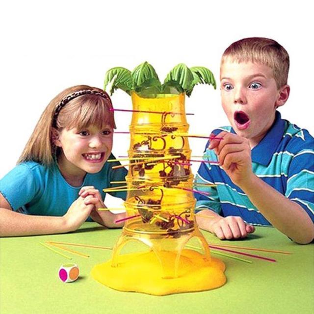 חם נופל מתגלגל קוף משפחת צעצוע (אחד גודל) טיפוס משחק ילדים למידה צעצועי 27