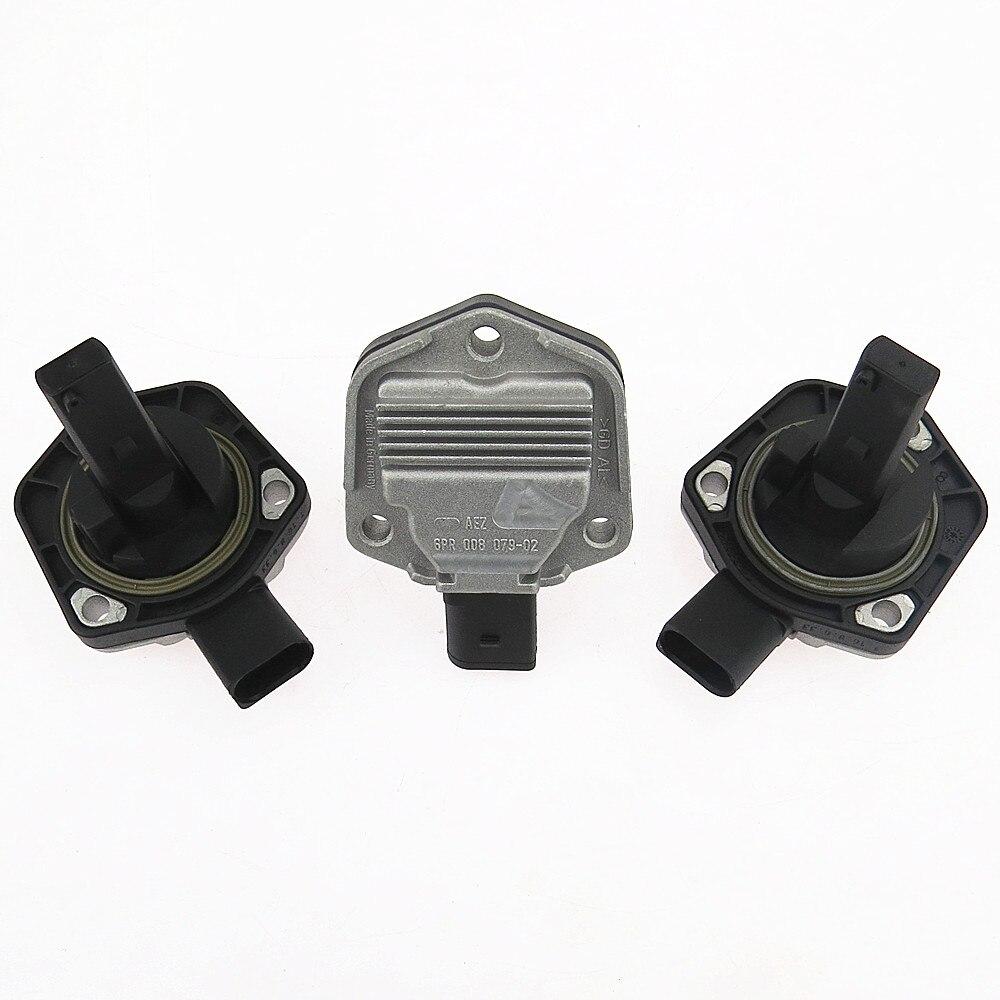 DOXA Qty 3 1J0 907 660 B 6PR008079 Oil Pan Level Sensor For A3 S3 A4 S4 A6 S6 A8 VW Sharan Phaeton Bora Jetta Golf MK4 Passat B5