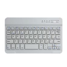 Del Mini Ultra Slim Aluminum Wireless Bluetooth Keyboard For IOS Android Windows PC td29