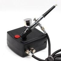 0.2mm Airbrush Paint Airbrush Compressor Air Brush Spray Gun Sprayer Pen Kit Makeup Airbrush Cake Needle Body Paint Nail Tattoo