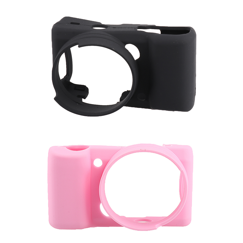 Silicone Camera Case Protective Cover Skin for <font><b>Sony</b></font> <font><b>Alpha</b></font> <font><b>A5000</b></font> A5100 image
