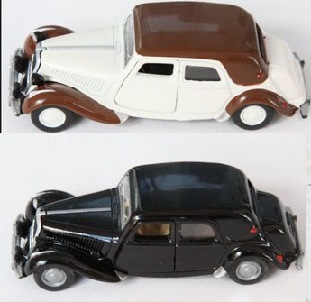 Siku Alloy Car Model Toy Transport Black And White Classic Car Baby