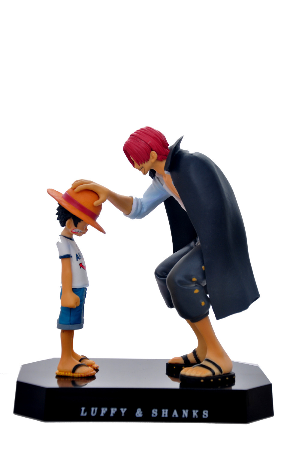 18cm One Piece Big Size Monkey D. Luffy Shanks Action Figures Anime PVC Brinquedos Collection Figures Toys
