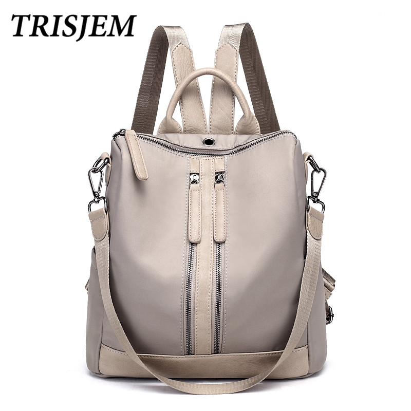 Winter Backpacks Fashion Woman Backpack Nylon Women Shoulder Bag High Quality Multifunction Laptop Backpack Teenage Travel Bag