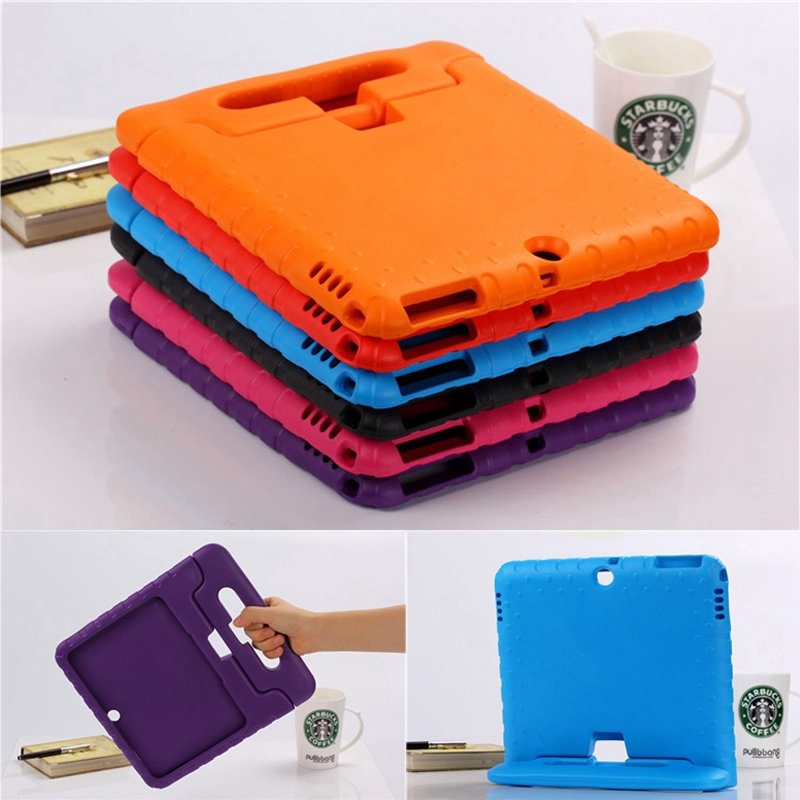 Case for Galaxy Tab 4 10.1 T530 / T531 / T535 hand-held Shock Proof EVA full body cover Kids Children Silicone para shell coqueCase for Galaxy Tab 4 10.1 T530 / T531 / T535 hand-held Shock Proof EVA full body cover Kids Children Silicone para shell coque