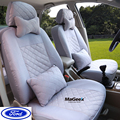 Univeraal cubierta de asiento de coche Para Ford mondeo Focus Fiesta S-MAX Edge Explorador Taurus negro/gris/rojo/azul ACCESORIOS